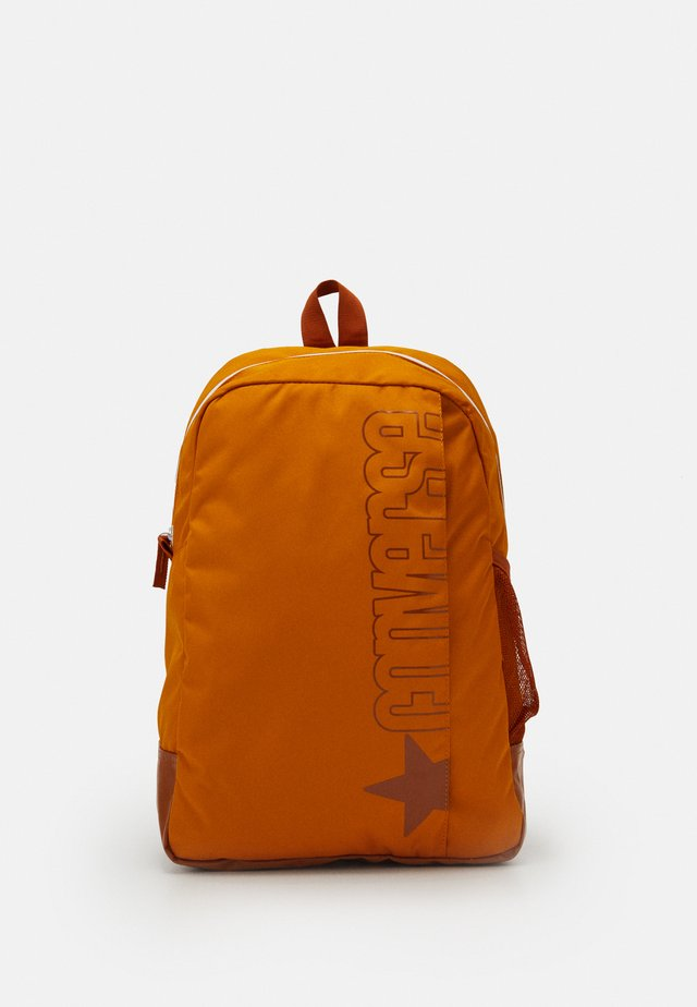 SPEED BACKPACK UNISEX - Ryggsekk - saffron yellow/amber sepia