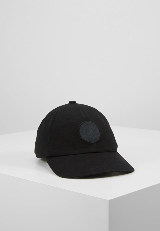 TONAL PATCHBASEBALL  - Lippalakki -  black