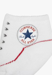 Converse - BOOTIES BABY 2 PACK - Ponožky - red - 5