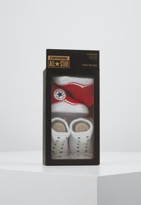 Converse - BOOTIES BABY 2 PACK - Ponožky - red - 3