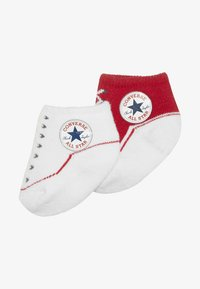 Converse - BOOTIES BABY 2 PACK - Ponožky - red - 4