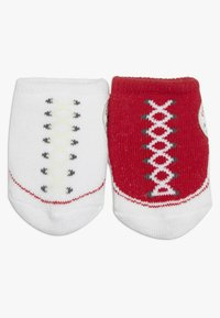 Converse - BOOTIES BABY 2 PACK - Ponožky - red - 2