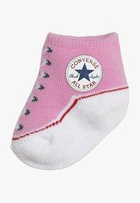 Converse - BOOTIES BABY 2 PACK - Strumpor - pink/white - 1