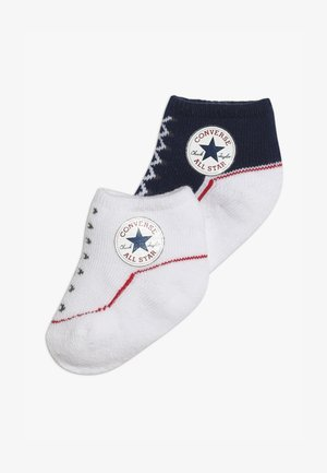 BOOTIES BABY 2 PACK - Chaussettes - navy