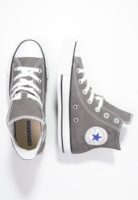 Converse - CHUCK TAYLOR ALL STAR HI  - High-top trainers - charcoal - 1