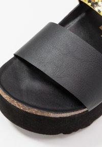 Colors of California - Pantofle na podpatku - yellow - 2