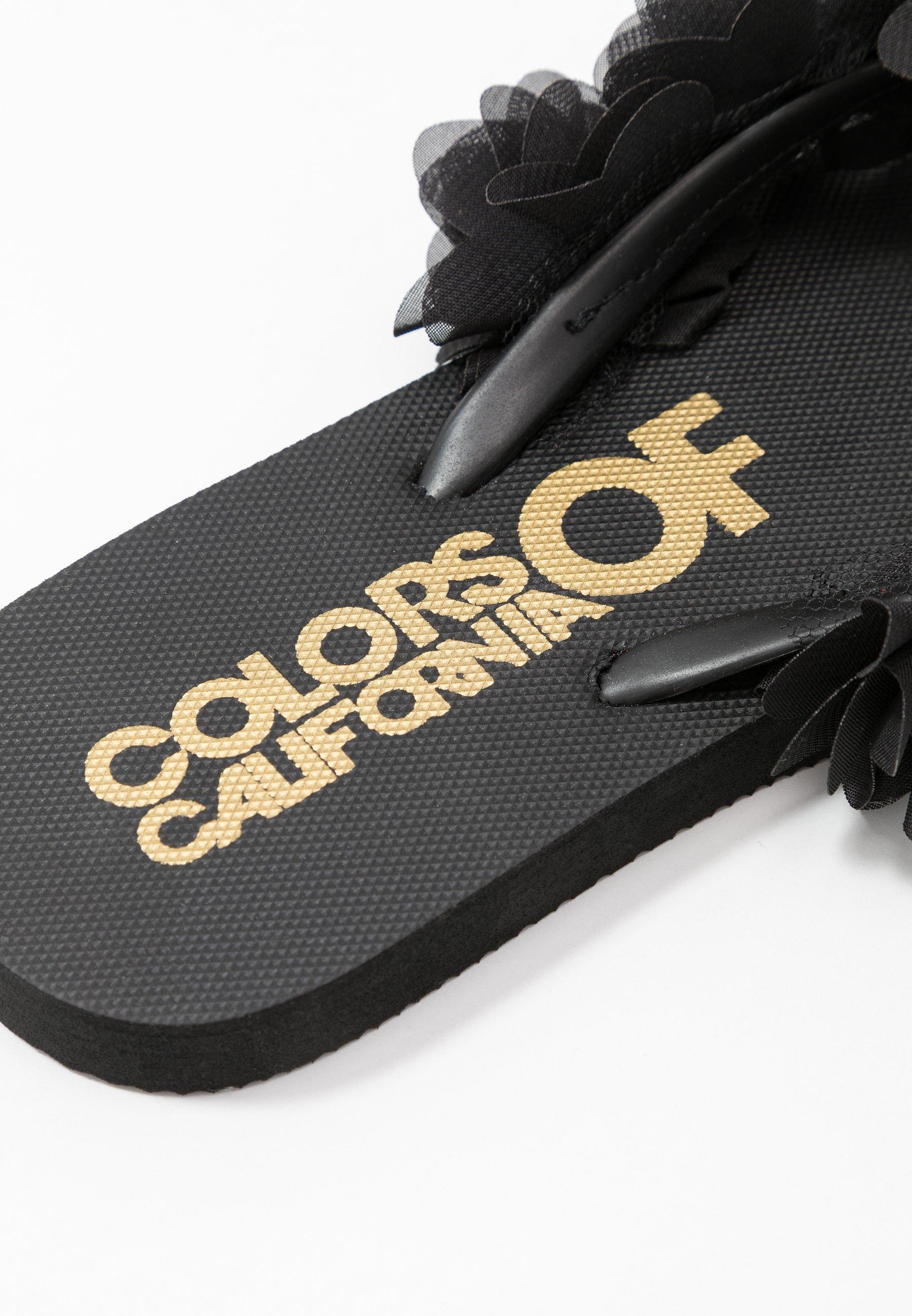Colors of California Tongs - black