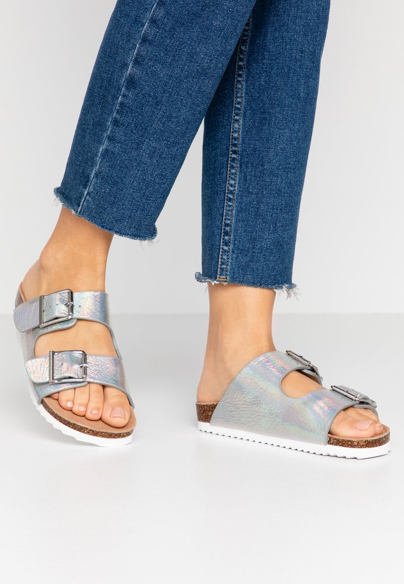 Colors of California - Slippers - silver