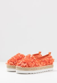 Colors of California - Espadrilky - coral - 4
