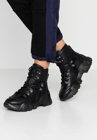 Colors of California - Platform ankle boots - black - 0
