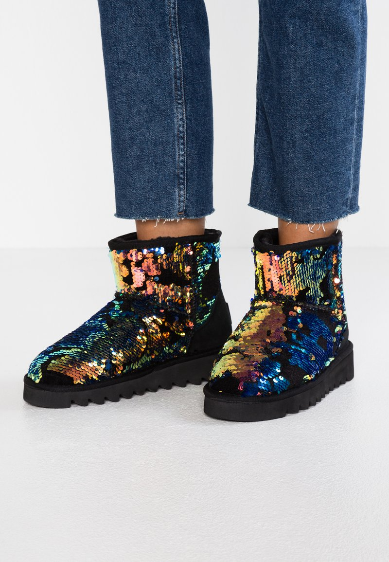 Colors of California - Platform ankle boots - multicolor