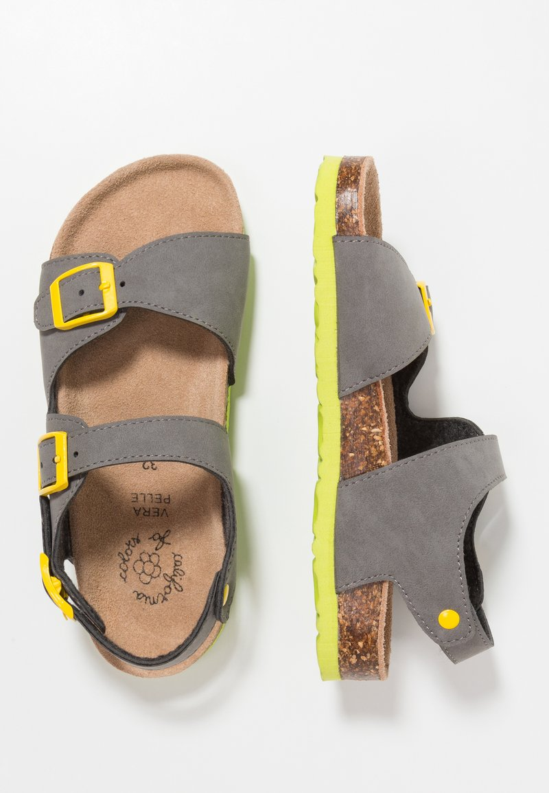 Colors of California - WITH 3 BUCKLES - Sandaler - grey