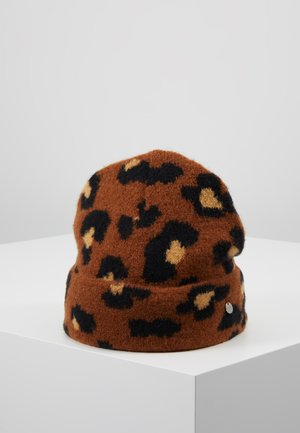 LEOPARD HAT - Beanie - camel