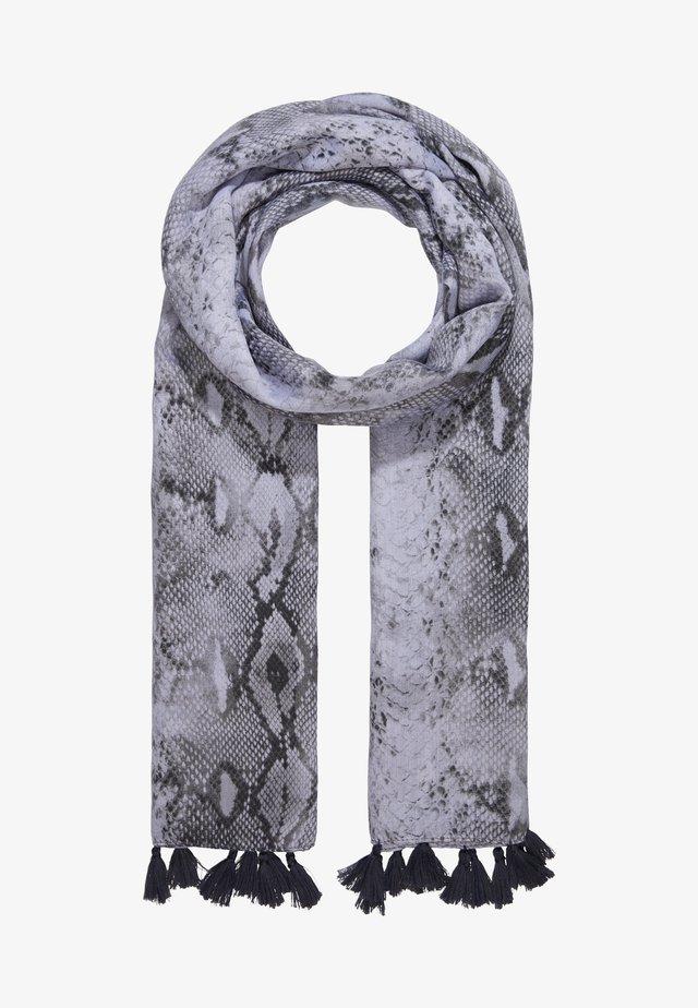 SNAKE PRINT - Huivi - grey