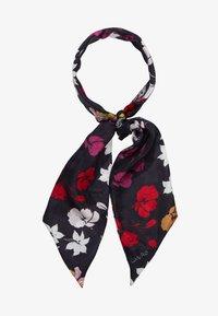 Codello - FLOWER PRINT - Foulard - black - 1