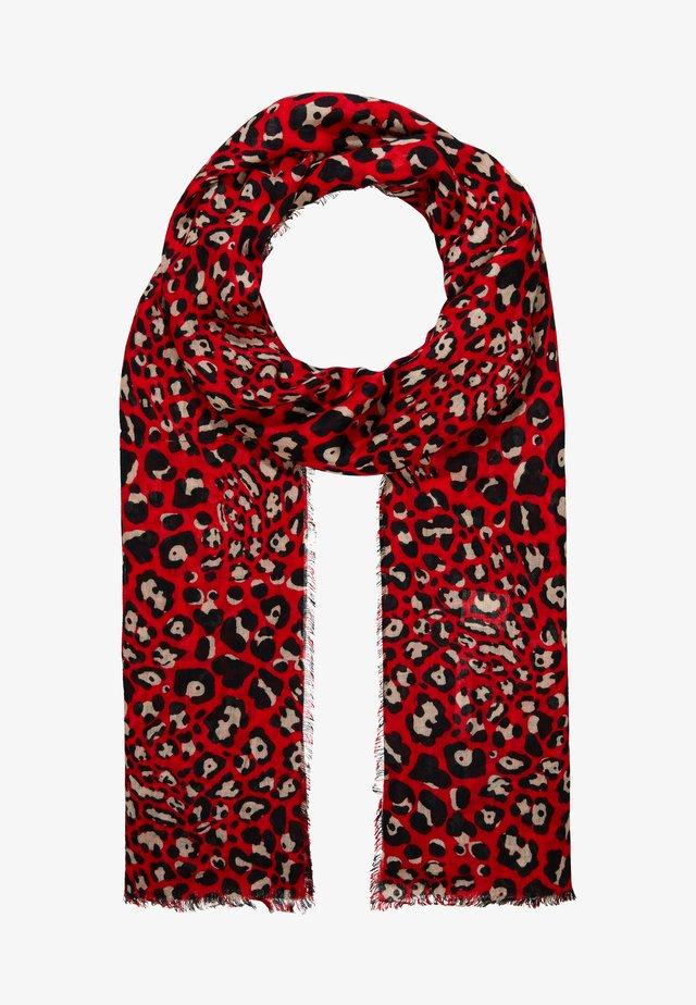 LEOPARD PRINT - Écharpe - red
