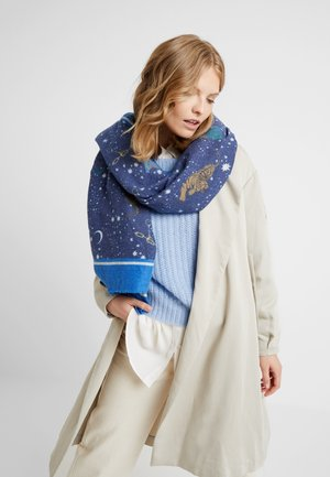 TIGER STARS BRUSHED - Šála - navy blue