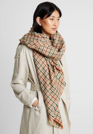 CHECKS - Foulard - camel