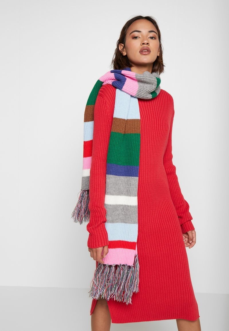 Codello - STRIPE SCARF - Huivi - light rose