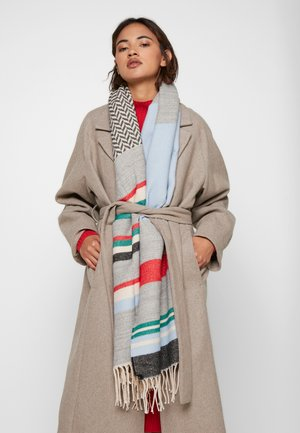 BLANKET STRIPED - Sjal - grey