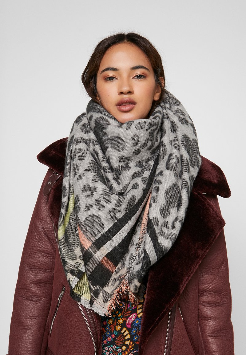 Codello - MICKEY BLANKET SCARF - Šátek - grey
