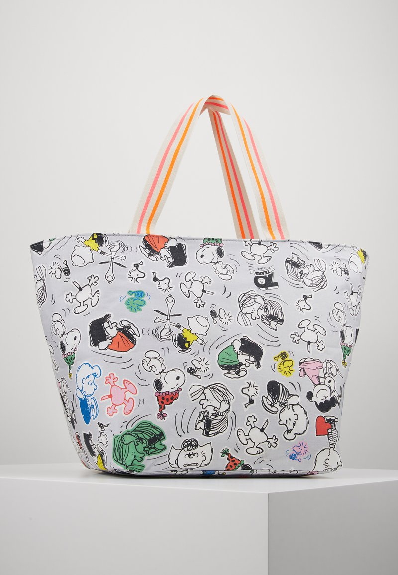 Codello - CODELLO X PEANUTS - Shopping Bag - grey