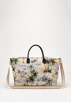 PEANUTS ALOHA - Weekend bag - beige