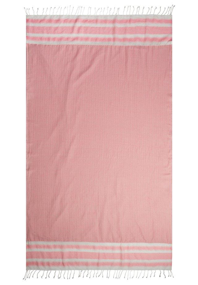 Beach towel - rosa