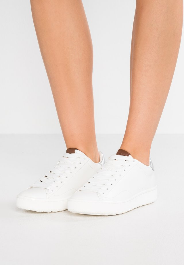 TOP  - Sneakers basse - white/silver