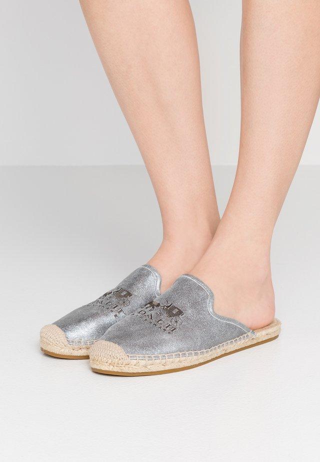 CALI - Pantolette flach - granit