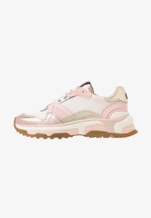 RUNNER METALLIC  - Sneakers basse - rose gold/chalk