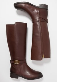 Coach - RUBY AND CARRIAGE BOOT - Boots - walnut - 3