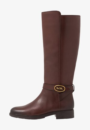 RUBY AND CARRIAGE BOOT - Botas - walnut