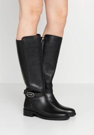 RUBY AND CARRIAGE BOOT - Stivali alti - black
