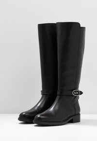 Coach - RUBY AND CARRIAGE BOOT - Vysoká obuv - black - 4