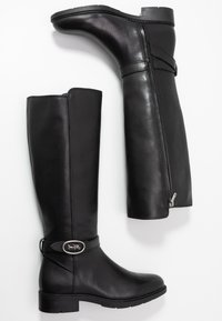 Coach - RUBY AND CARRIAGE BOOT - Vysoká obuv - black - 3