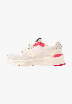 RUNNER FLUO - Zapatillas - chalk/fluo pink
