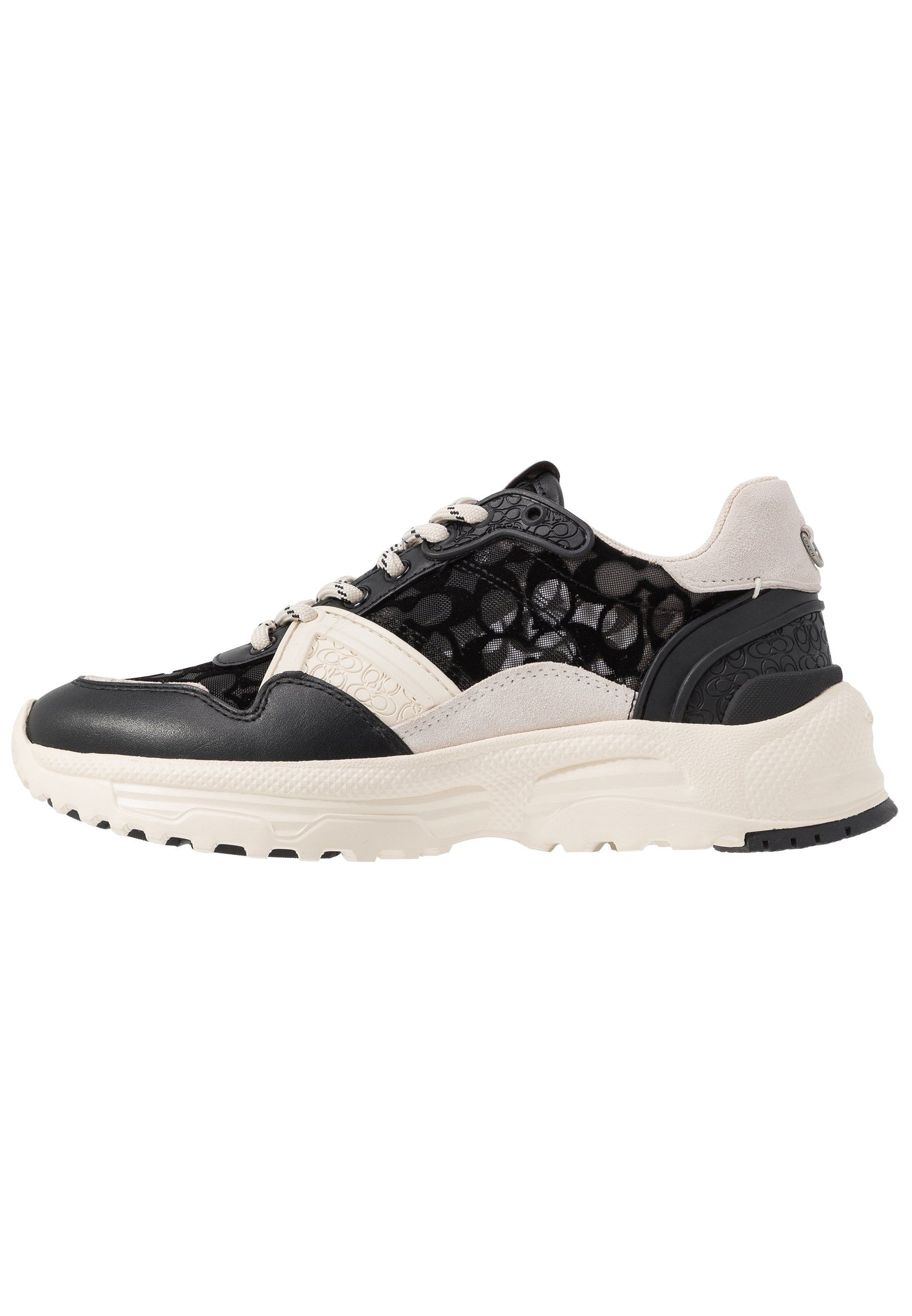 Coach Runner Signature - Joggesko Black/chalk