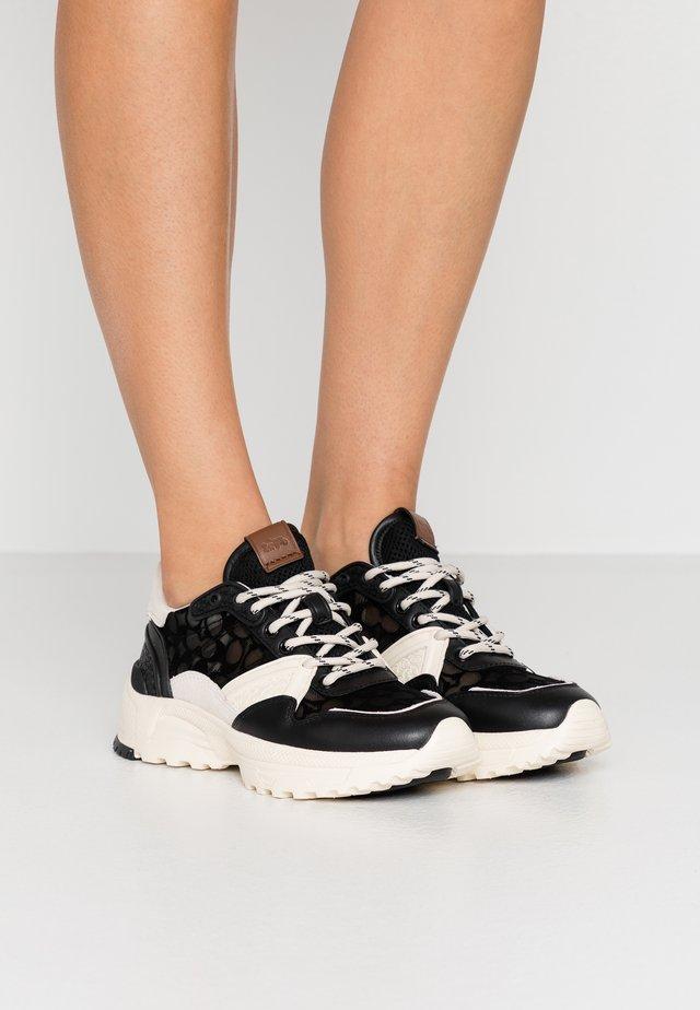 RUNNER SIGNATURE - Sneakers basse - black/chalk