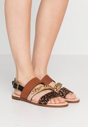 HEATHER C CHAIN  - Sandals - natural