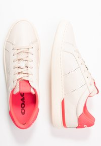 Coach - TOP - Sneakers laag - chalk/neon pink - 3