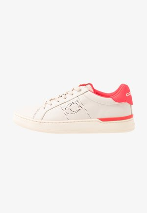 TOP - Sneakers laag - chalk/neon pink