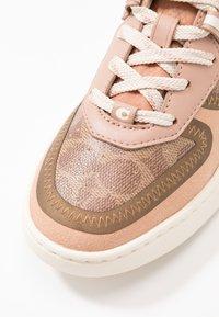 Coach - CITYSOLE  COURT  - Sneakersy niskie - tan/beechwood - 2