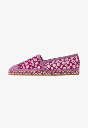 CASEY SIGNATURE - Loafers - berry