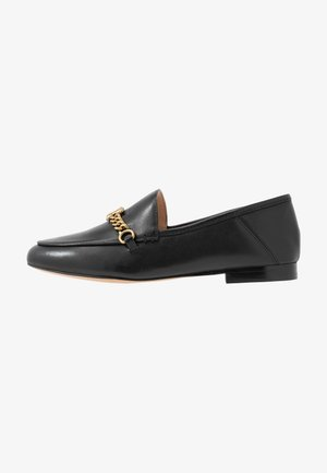 HELENA C CHAIN LOAFER - Slip-ons - black