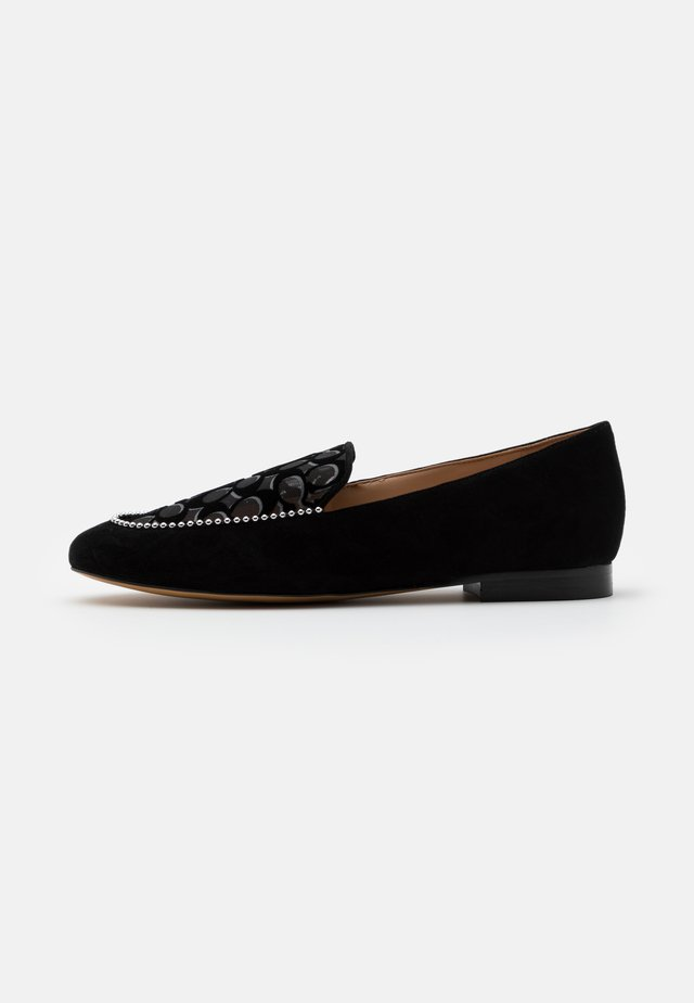 HARPER LOAFER - Slippers - black