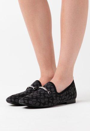 HARLING LOAFER - Slippers - black