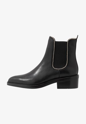 BOWERY BEADCHAIN BOOTIE - Classic ankle boots - black