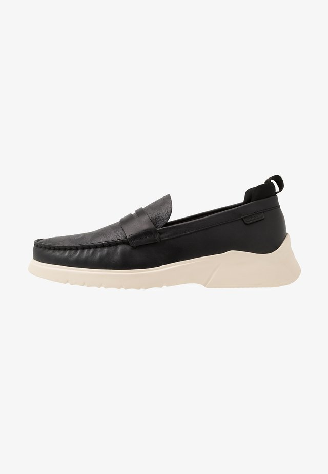 CITYSOLE SIGNATURE LOAFER - Slippers - black