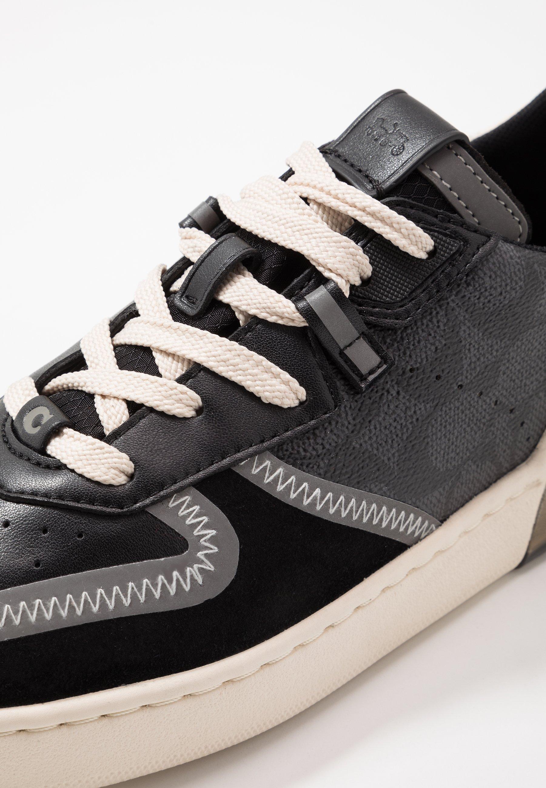 Coach Signature Tech Court - Sneakers Laag Charcoal/black FTLz6sf